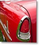 1955 Chevrolet Bel Air Tail Light Metal Print