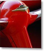 1955 Chevrolet Belair Nomad Steering Wheel 2 Metal Print