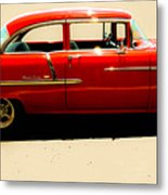1955 Chevy Metal Print by Tom Zukauskas