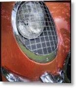 1955 Corvette Headlight Detail Metal Print