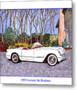 1955 Corvette Six Roadster Metal Print
