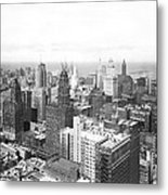 1955 Downtown Chicago Metal Print