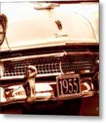 1955 Ford Fairlane Metal Print