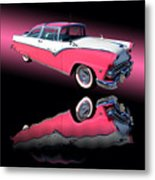 1955 Ford Fairlane Crown Victoria Metal Print