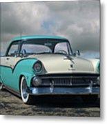1955 Ford Fairlane Victoria Metal Print