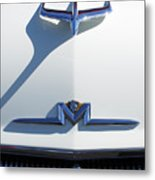 1956 Mercury Hood Ornament Metal Print