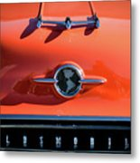 1955 Oldsmobile Rocket 88 Hood Ornament Metal Print