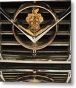 1955 Packard Hood Ornament Emblem Metal Print