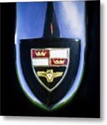 1955 Studebaker President Speedster Emblem -0496c45 Metal Print