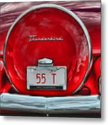 1955 Thunderbird Metal Print
