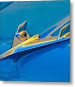 1956 Chevrolet Hood Ornament 2 Metal Print