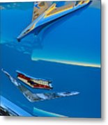 1956 Chevrolet Hood Ornament 4 Metal Print