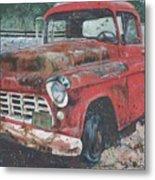 1956 Chevy Pickup Metal Print