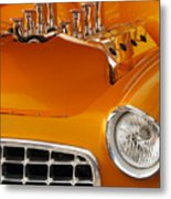 1956 Chrysler Custom 2 Door Sport Wagon Metal Print