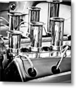 1956 Chrysler Hot Rod Engine Metal Print