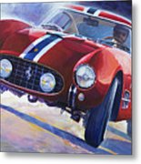 1956 Ferrari 250 Gt Berlinetta Tour De France Metal Print
