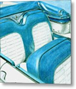 1956 Ford Fairlane Convertible 1 Metal Print