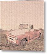 1956 Ford S120 International Truck Metal Print