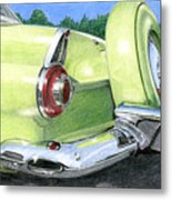 1956 Ford Thunderbird Metal Print