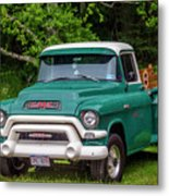 1956 Gmc Pickup Metal Print