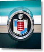 1956 Mercury Monterey Emblem Metal Print