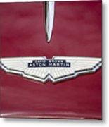 1957 Aston Martin Metal Print