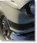 1957 Cadillac Front End Metal Print