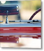 1957 Chevrolet Corvette Convertible  Metal Print
