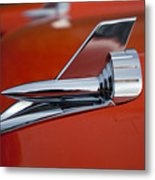 1957 Chevrolet Hood Ornament Metal Print