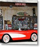 1957 Corvette Hackberry Arizona Metal Print