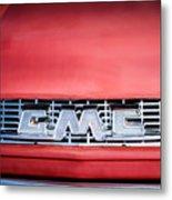 1957 Gmc Pickup Truck Grille Emblem -0329c1 Metal Print
