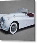 1957 Jaguar Xk140 Metal Print