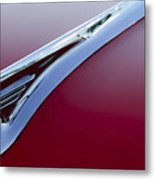 1957 Oldsmobile Hood Ornament 2 Metal Print