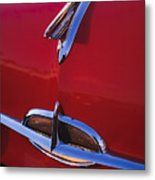 1957 Oldsmobile Hood Ornament 4 Metal Print