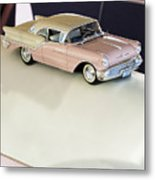 1957 Oldsmobile Super 88 Matchbox Car Metal Print