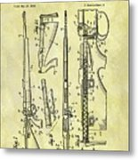 1957 Rifle Patent Metal Print