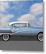 1958 Buick Roadmaster 75 Metal Print