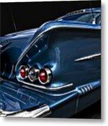 1958 Chevrolet Bel Air Impala Metal Print