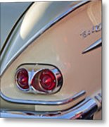 1958 Chevrolet Belair Taillight Metal Print