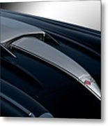 1958 Corvette 'big Block' Hood Metal Print