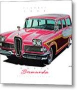 1958 Edsel Bermuda Metal Print