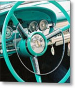 1958 Edsel Pacer Dash Metal Print