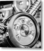 1958 Edsel Ranger Push Button Transmission 2 Metal Print