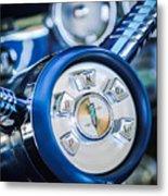 1958 Edsel Ranger Push Button Transmission Metal Print