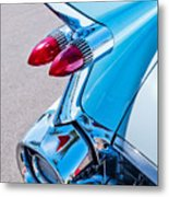 1959 Cadillac Eldorado 62 Series Taillight Metal Print