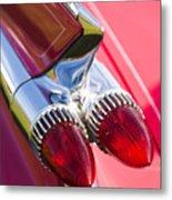 1959 Cadillac Eldorado Tail Fin 2 Metal Print
