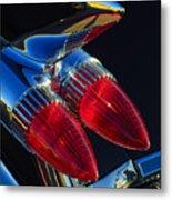 1959 Cadillac Eldorado Tail Fin 3 Metal Print