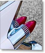 1959 Cadillac Eldorado Tail Fin Metal Print