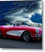 1959 Chevrolet Corvette Convertible II Metal Print