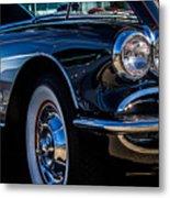 1959 Chevy Corvette Metal Print